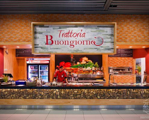 Trattoria Buongiorno - Food Court - Henri Coanda International Airport