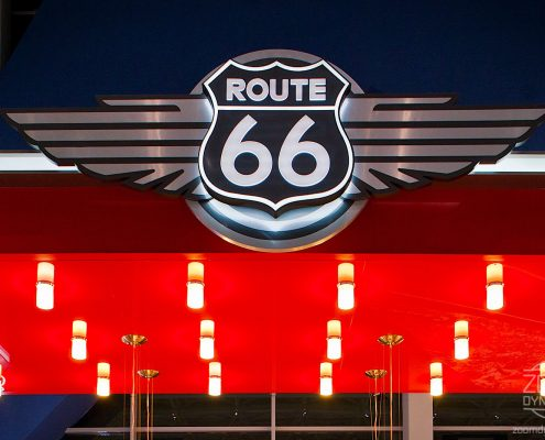 Route 66 - American Diner - Henri Coanda International Airport