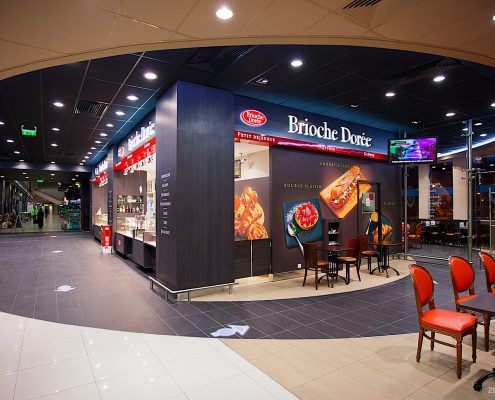 Brioche Doree - Coffee Shop 2 - Henri Coanda International Airport