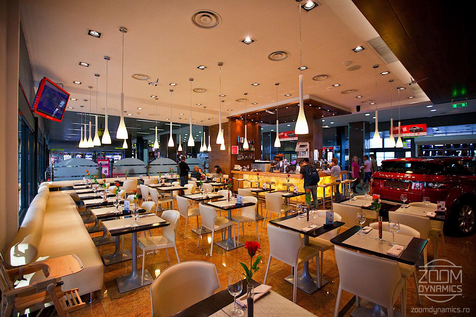Refuel - Live Cooking - Henri Coanda International Airport