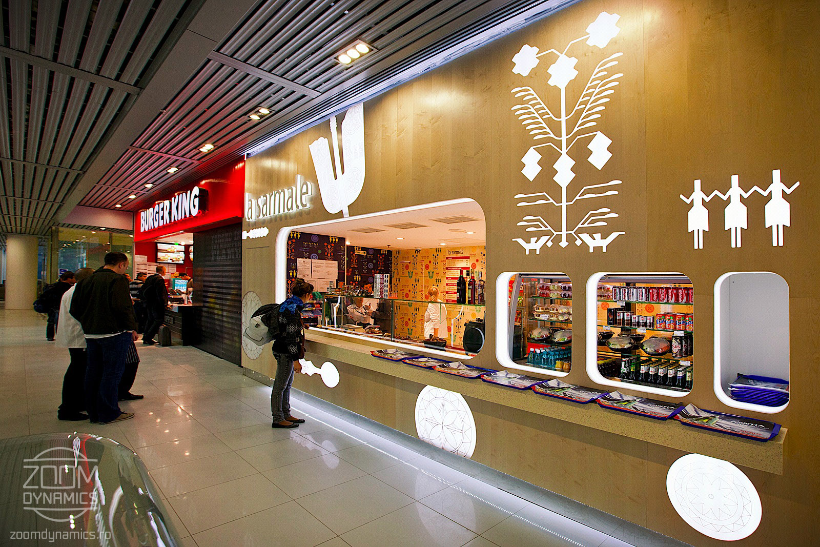 La Sarmale - Food Court - Henri Coanda International Airport