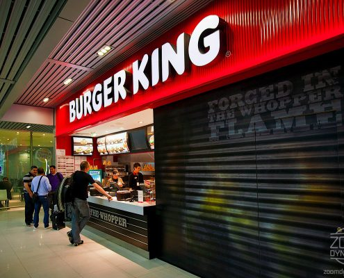Burger King - Food Court - Henri Coanda International Airport