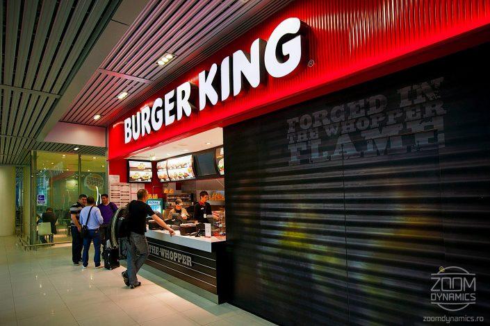 Burger King - Food Court - Henri Coanda International Airport