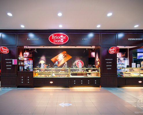 Brioche Doree - Coffee Shop 1 - Henri Coanda International Airport