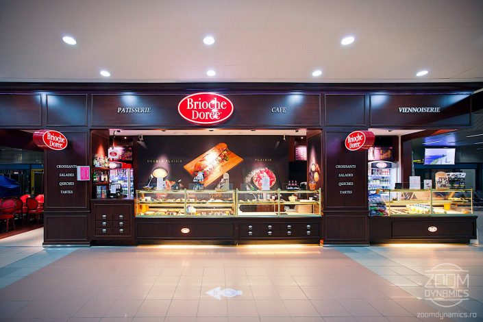 Brioche Doree - Coffee Shop 1 - Henri Coanda International Airport