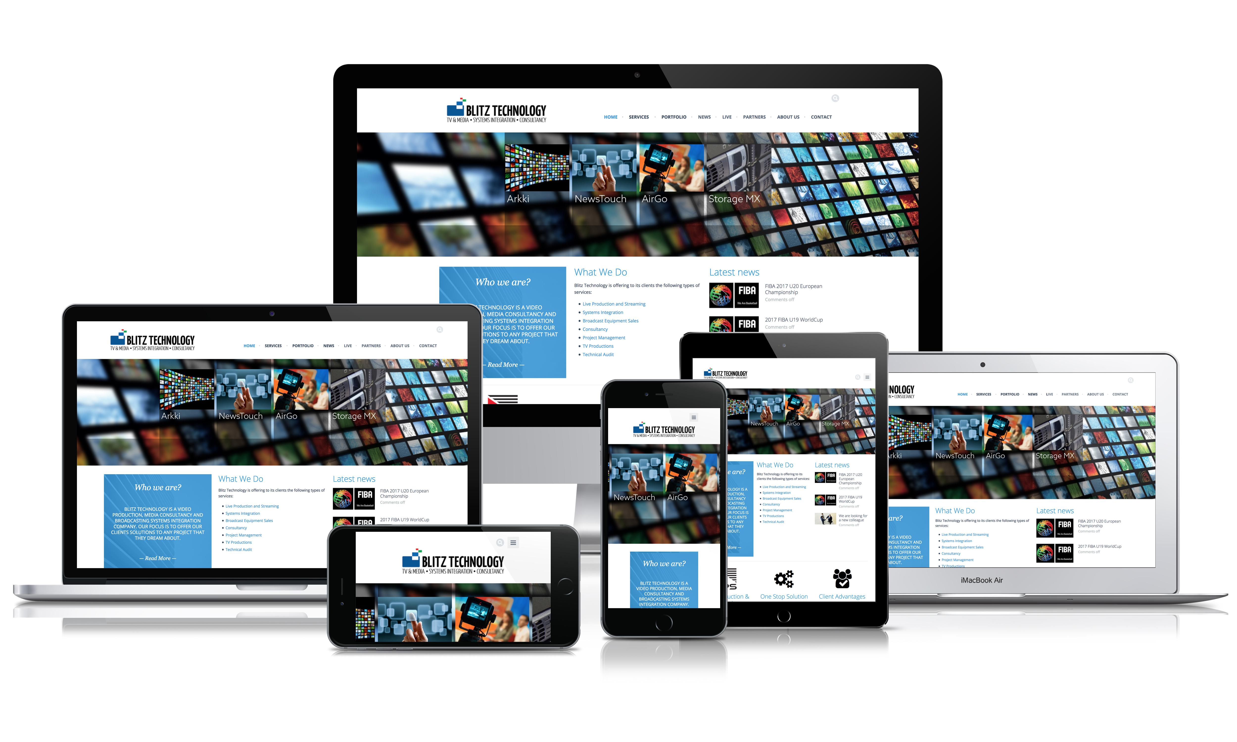web design - blitztechnology.ro