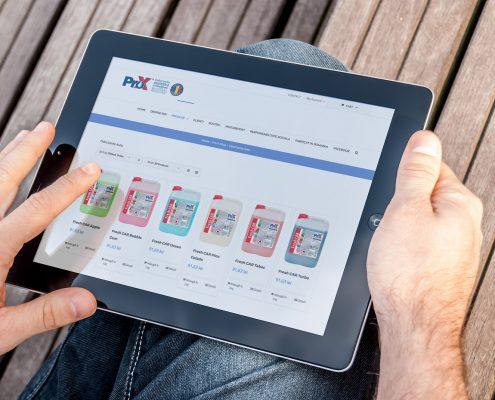 Zoom Dynamics - web design - Pro-X.ro - magazin online - eCommerce