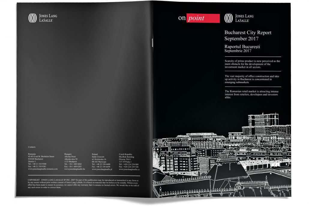 JLL Bucharest City Report Cover