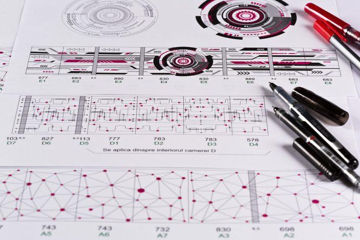 Zoom Dynamics - design interior Infosys Consuting pereti sticla